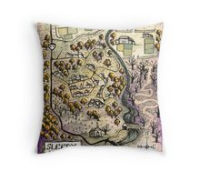 Sleepy Hollow Throw Pillow