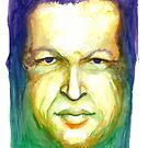 Hugo Chavez by Meredith Nolan