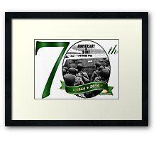 70th Anniversary of D-Day Logo Framed Print