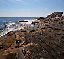 Rocky coast by PhotosByHealy