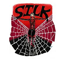 Silk - A Spider Woman Photographic Print