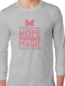 Ponyville Walk for Cutie Pox T-Shirt