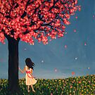 Under the Cherry Tree by Rachelle Dyer