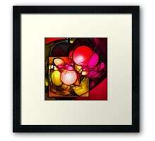 Creation // Organic Paradoxon #3 Framed Print