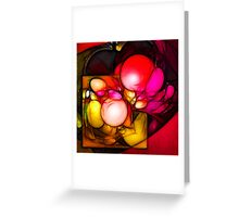 Creation // Organic Paradoxon #3 Greeting Card