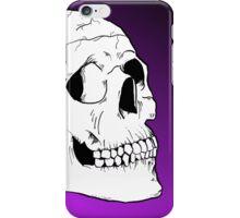 White Skull iPhone Case/Skin