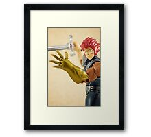 Lion-O Framed Print