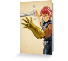 Lion-O Greeting Card