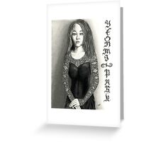 Yeonmi Park - Korean Activist 2015 Greeting Card