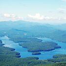 Hiking up WhiteFace Mountain by Diane  Kramer