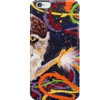 Who paints the night? iPhone Case/Skin