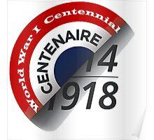 First World War Centenary Logo Poster