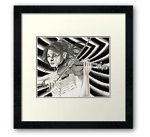 Violinist 2015 Framed Print