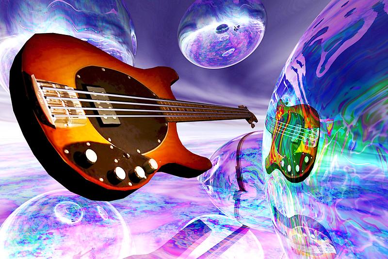 Heaven's Bass #1 by Benedikt Amrhein