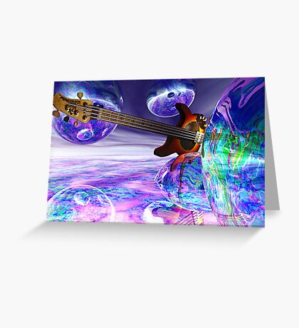 Heaven's Bass #2 Greeting Card