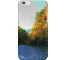 Down The Gravel Road iPhone Case/Skin