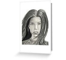 Woman 2015 Greeting Card