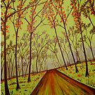 """""""Country Road Forest"""" by Steve Farr"""