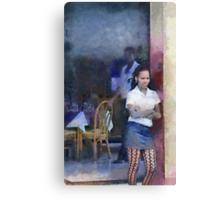 Restaurant, Trinidad, Cuba Canvas Print