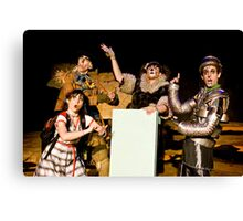 Wizard of Oz-10 Canvas Print