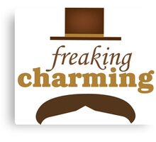 Freaking Charming Canvas Print