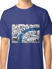 Along the river Thames Classic T-Shirt