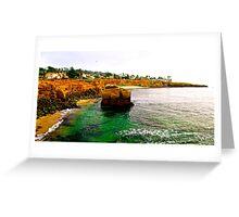 San Diego Coastline - California Greeting Card