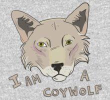I am a CoyWolf Kids Tee