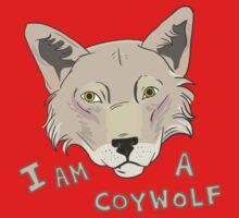 I am a CoyWolf Baby Tee
