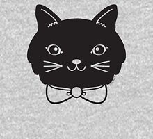 Cool Black Kitty Cat Face Unisex T-Shirt