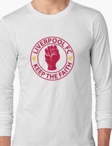 Liverpool FC - Keep The Faith Long Sleeve T-Shirt