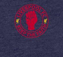 Liverpool FC - Keep The Faith Tri-blend T-Shirt