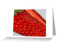 Strawberry! Greeting Card
