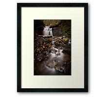 Strickland Avenue Falls Framed Print