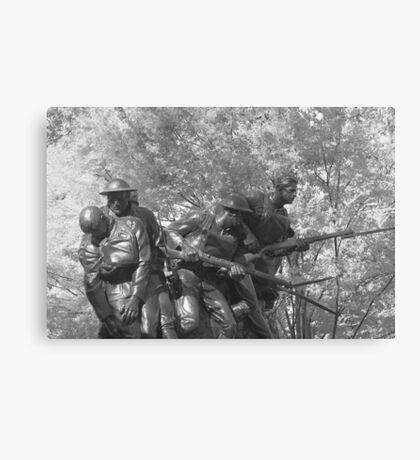 The 107th Infantry Memorial Canvas Print