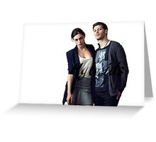 Klaus/Hayley Hybrids Greeting Card