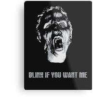 Blink Metal Print