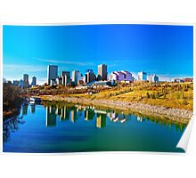 River Valley View - Edmonton, AB Canada Poster