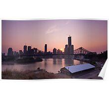 Smokey Brisbane Poster