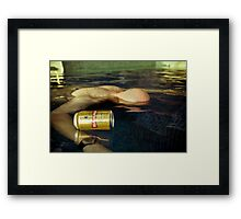 Too Much Party Framed Print