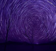 Lake Moogerah Star trail by Martin Canning