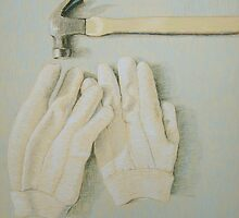 """Hammer & gloves"" by Richard Robinson"
