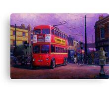 London trolleybus Canvas Print