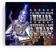 Off To See The Wizard-3 Canvas Print