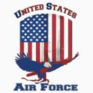 United States Air Force by Buckwhite
