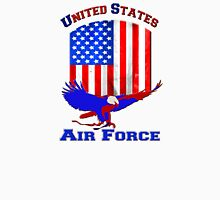 United States Air Force Women's Fitted V-Neck T-Shirt