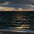 Baltic sea in autumn by Antanas