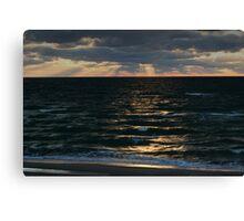Baltic sea in autumn Canvas Print
