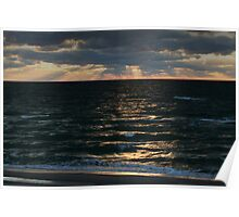 Baltic sea in autumn Poster