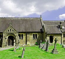 St Katherine's Church at Rowsley, Derbyshire by Rod Johnson